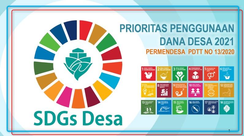 Permendesa PPDT No 13 Tahun 2020 Tentang Prioritas Penggunaan Dana Desa Tahun 2021